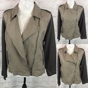 Eileen Fisher Moto jacket